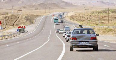 ترافیک سنگین در آزادراه تهران ـ قم
